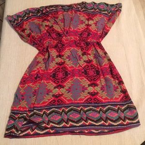 Angie Dresses - Angie dress bright south western pattern.